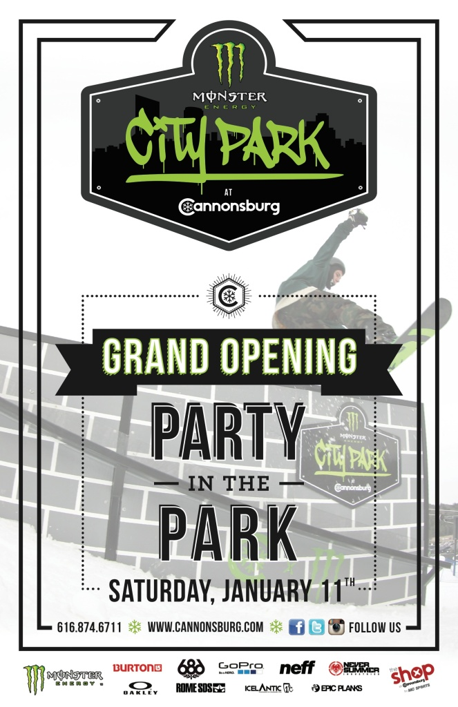 Monster City Park Grand Opening Party!